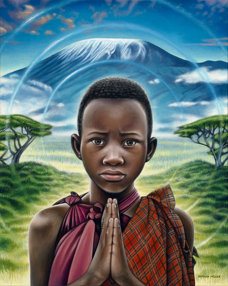 african-boy-painting