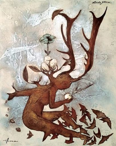 """THE SOWER"" BY LINDA STORM & PABLO PEREA. CUBANAMERICANART.NET"